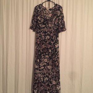 Nordstrom maxi dress floral
